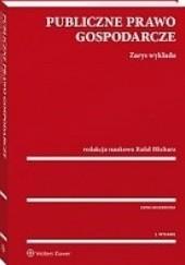 Okładka książki Publiczne prawo gospodarcze. Zarys wykładu