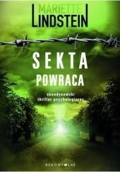 Okładka książki Sekta powraca Mariette Lindstein