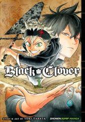 Okładka książki Black Clover #1 Yuki Tabata