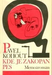 Okładka książki Kde je zakopán pes Pavel Kohout