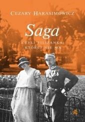 Okładka książki Saga, czyli filiżanka, której nie ma Cezary Harasimowicz