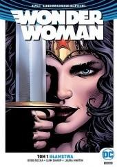 Okładka książki Wonder Woman: Kłamstwa Greg Rucka,Liam Sharp,Matthew Clark
