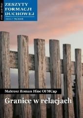 Okładka książki Granice w relacjach Mateusz Roman Hinc