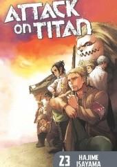 Okładka książki Attack on Titan #23 Isayama Hajime