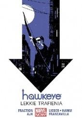 Okładka książki Hawkeye: Lekkie trafienia Steve Lieber,Matt Fraction,David Aja,Francesco Francavilla,Jesse Alan Hamm,Annie Wu