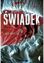Okładka książki Świadek Lars Kepler