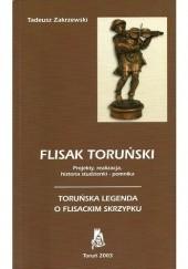 Okładka książki Flisak toruński. Toruńska legenda o flisackim skrzypku Tadeusz Zakrzewski