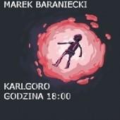 Okładka książki Karlgoro godzina 18:00 Marek Baraniecki
