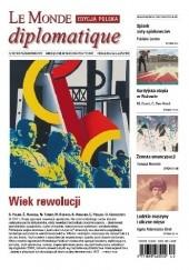 Okładka książki Le Monde Diplomatique 10/2017 praca zbiorowa