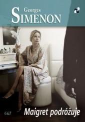 Okładka książki Maigret podróżuje Georges Simenon