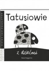Okładka książki Tatusiowie z dziećmi Guido van Genechten