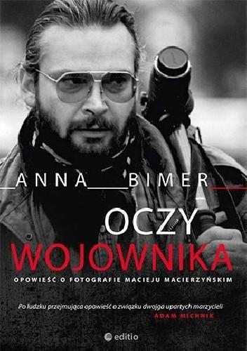 Okładka książki Oczy Wojownika Anna Bimer