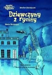 Okładka książki Aniołki kota Cagliostro. Dziewczyny z ryciny Jarosław Mikołajewski