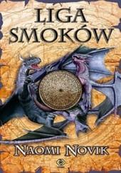 Okładka książki Liga smoków Naomi Novik