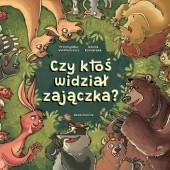 Okładka książki Czy ktoś widział zajączka? Przemysław Wechterowicz,Nikola Kucharska