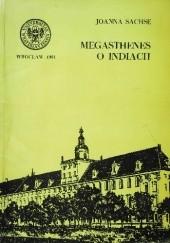 Okładka książki Megasthenes o Indiach Joanna Sachse