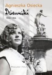 Okładka książki Dzienniki 1954–1955 Agnieszka Osiecka