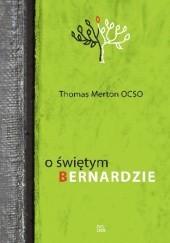 Okładka książki O świętym Bernardzie Thomas Merton