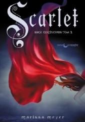 Okładka książki Scarlet Marissa Meyer