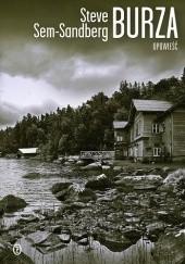 Okładka książki Burza Steve Sem-Sandberg