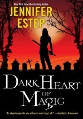 Okładka książki Dark heart of magic Jennifer Estep