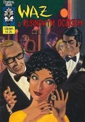 Okładka książki Wąż z rubinowym oczkiem Bogusław Polch,Władysław Krupka