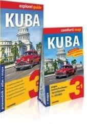 Okładka książki Kuba 3w1: przewodnik + atlas + mapa Anna Kiełtyka