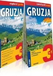 Okładka książki Gruzja 3w1: przewodnik +atlas + mapa praca zbiorowa