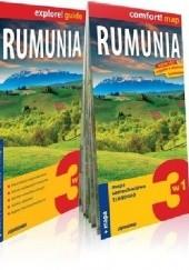 Okładka książki Rumunia 3w1: przewodnik + atlas + mapa Stanisław Figiel