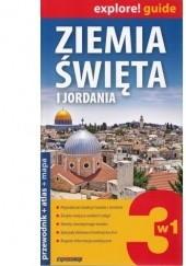 Okładka książki Ziemia Święta i Jordania 3w1: przewodnik + atlas + mapa praca zbiorowa