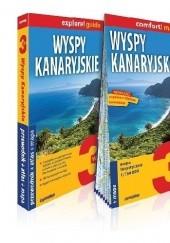 Okładka książki Wyspy Kanaryjskie 3w1: przewodnik + atlas + mapa praca zbiorowa