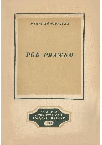 Okładka książki Pod prawem Maria Konopnicka