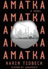 Okładka książki Amatka Karin Tidbeck