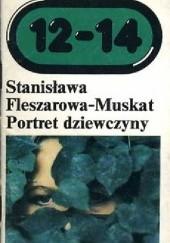 Okładka książki Portret dziewczyny na zielonym tle Stanisława Fleszarowa-Muskat