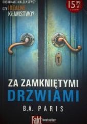 Okładka książki Za zamkniętymi drzwiami