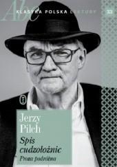 Okładka książki Spis cudzołożnic. Proza podróżna Jerzy Pilch