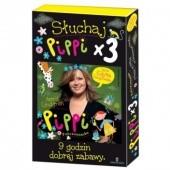 Okładka książki Pippi 3xPAK Astrid Lindgren