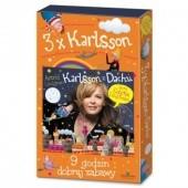 Okładka książki Karlsson 3xPAK Astrid Lindgren