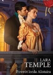 Okładka książki Powrót lorda Alistaira Lara Temple
