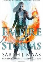 Okładka książki Empire of Storms Sarah J. Maas