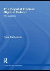 Okładka książki The Populist Radical Right in Poland: The Patriots