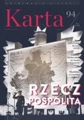 Okładka książki Karta nr 94 Hanna Świda-Ziemba,Wiktor Woroszylski,Zbigniew Gluza,Redakcja Magazynu Historycznego KARTA