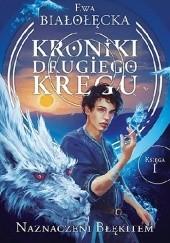 Okładka książki Naznaczeni błękitem Ewa Białołęcka