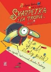 Okładka książki Skarpetka na tropie, czyli kto ukradł złoty guzik? Daniel de Latour,Justyna Bednarek