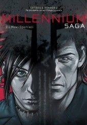 Okładka książki Millennium. Saga #02: Nowi Spartiaci Sylvain Runberg,Belen Ortega