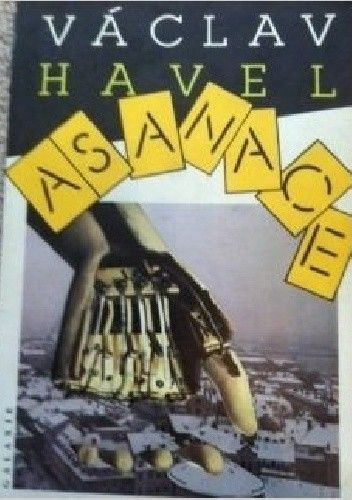 Okładka książki Asanace Václav Havel