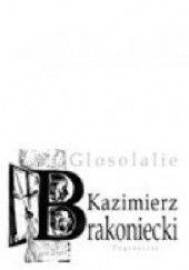 Okładka książki Glosolalie Kazimierz Brakoniecki