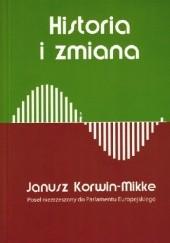Okładka książki Historia i zmiana Janusz Korwin-Mikke
