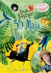 Okładka książki 35 maja albo jak Konrad pojechał konno do mórz południowych Erich Kästner