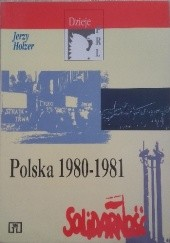 Okładka książki Polska 1980-1981